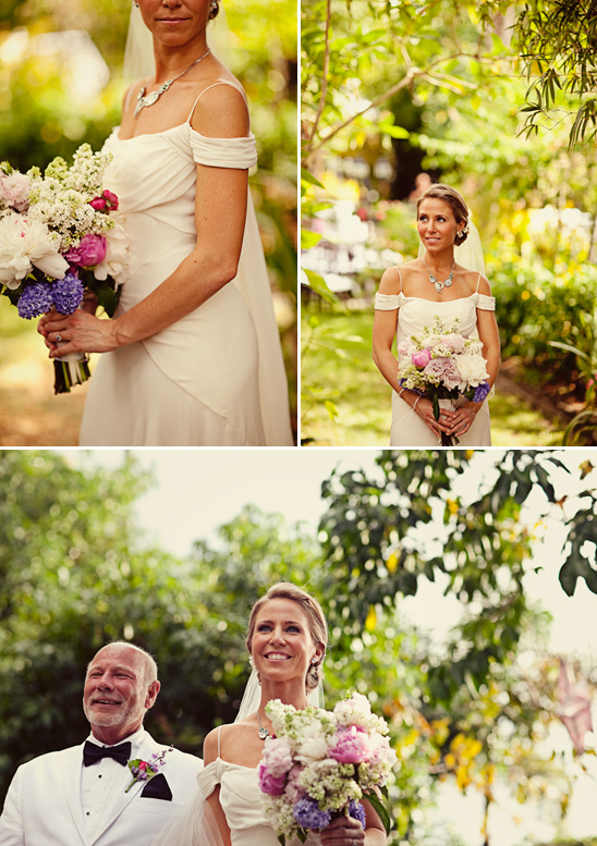 A Dazzling Backyard Oasis Wedding