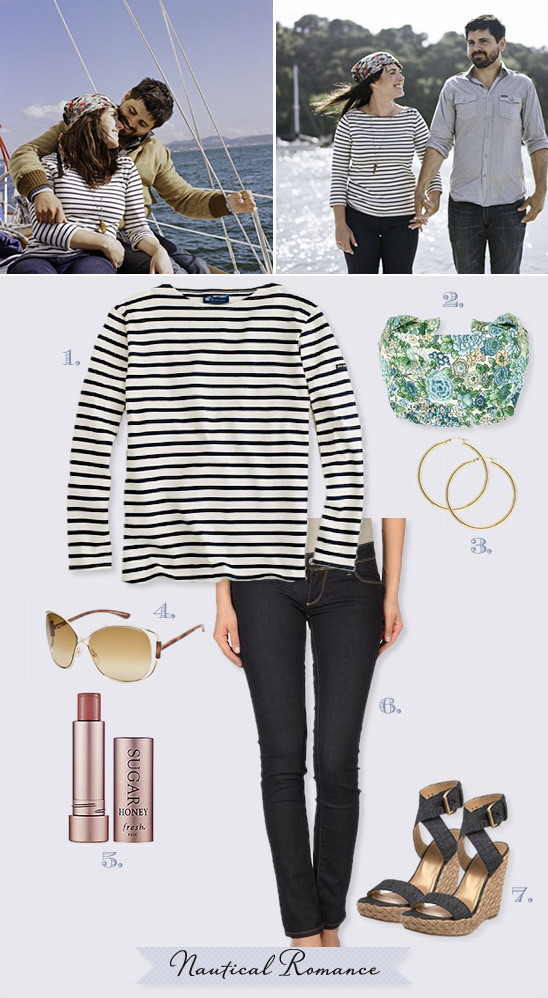 Nautical Engagement Outfit Ideas