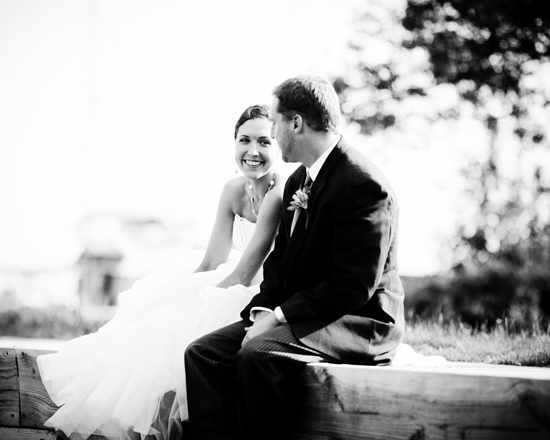 A gorgeous Lake Superior wedding