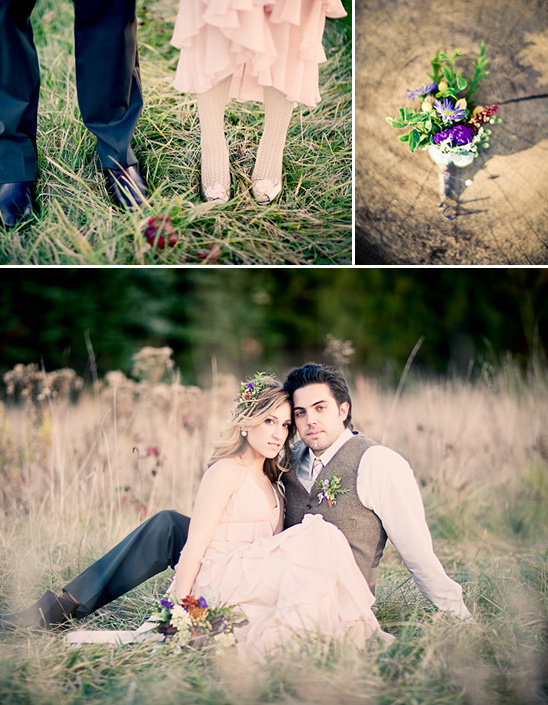 An Elegant Picnic Engagement Shoot by Joey Kennedy Photography