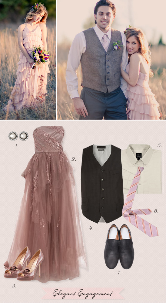 Elegant Engagement Outfit Ideas