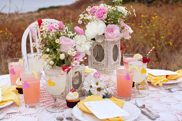 Strawberry Lemonade Wedding Ideas