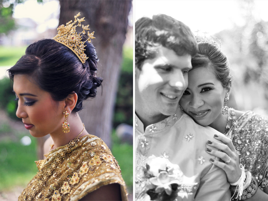 Cambodian Wedding Portraits, Jason & Julie