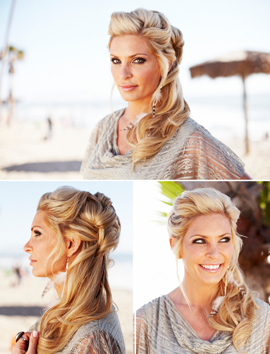 How To Get Beach Hairstyles from Salon Bleu