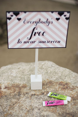 Ace Poolside Wedding Reception From Jesi Haack Design