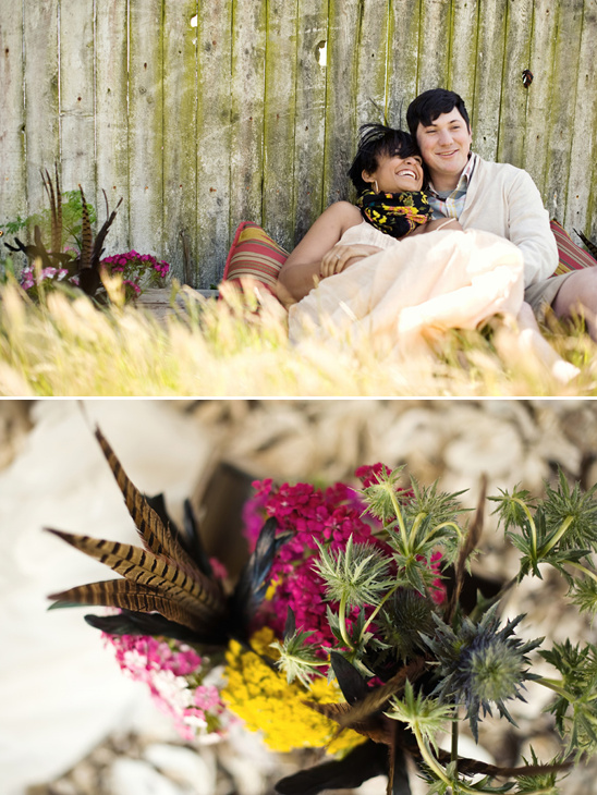 Boho Engagement Shoot by Delbarr Moradi Photography