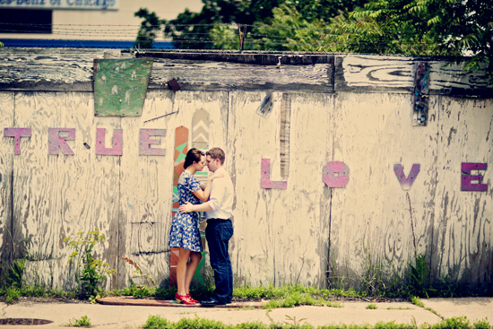 Urban meets Vintage E-Session