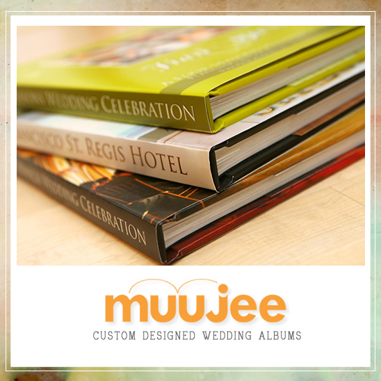 Custom Designed Wedding Albums From Muujee