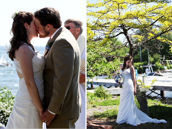 Madeline Island Beach Wedding