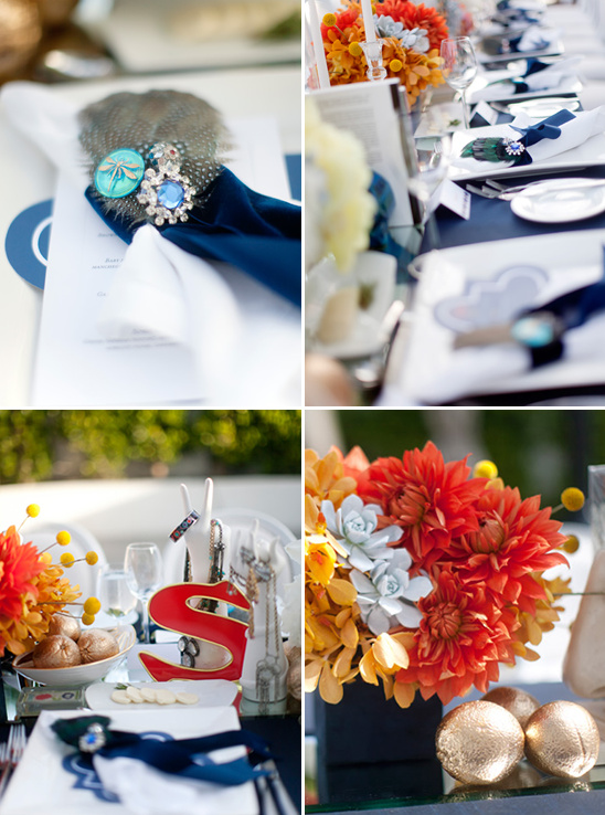 Seductive And Glamorous Wedding Details