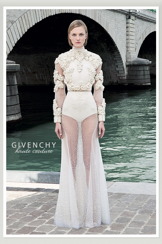 Givenchy Couture 2011 Wedding Dresses