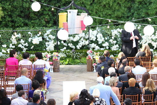 Orange County Garden Party Wedding