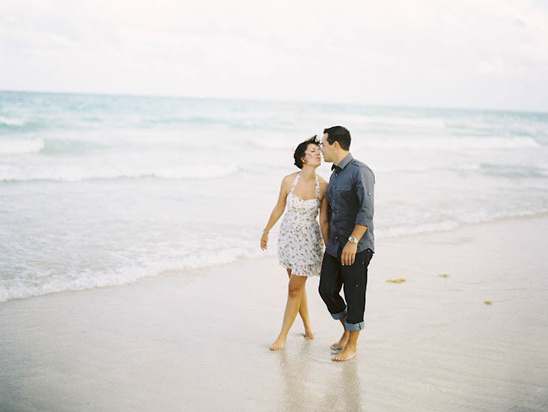 South Beach Engagement Shoot by Marlon Richardson Photography