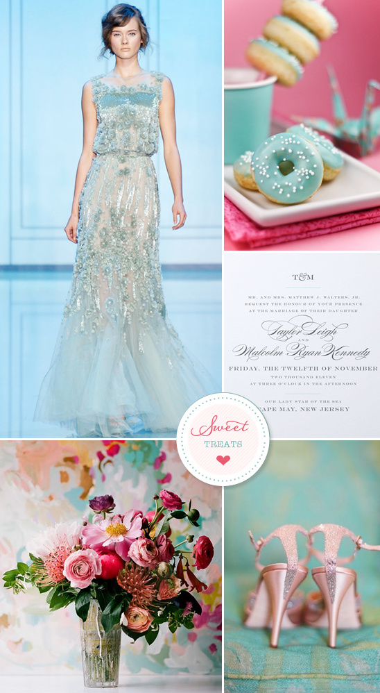 Sweet Treats + Elie Saab Wedding Gown