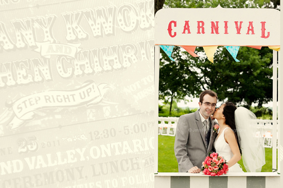 Super Fun Carnival Themed Wedding!