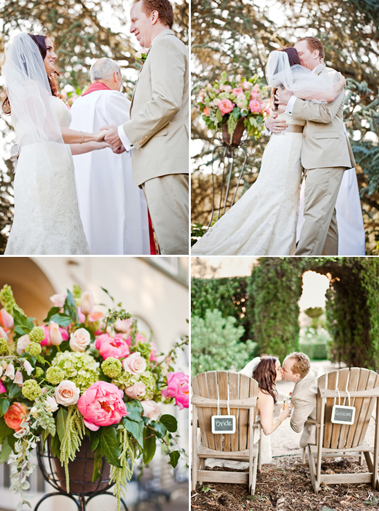 Perfectly Peach Sonoma Wedding By Volatile Photography