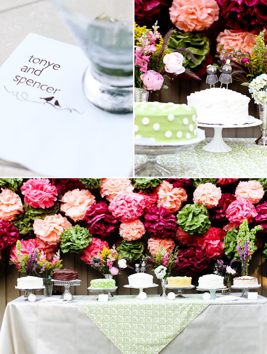 A Funky Elegant Wedding by Michelle Sullivan Photography