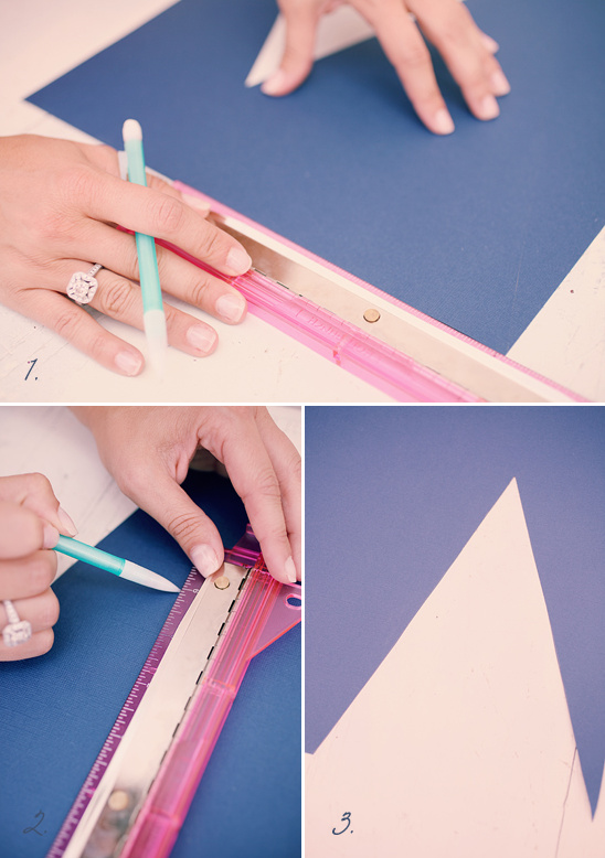 Do It Yourself Paper Pennant