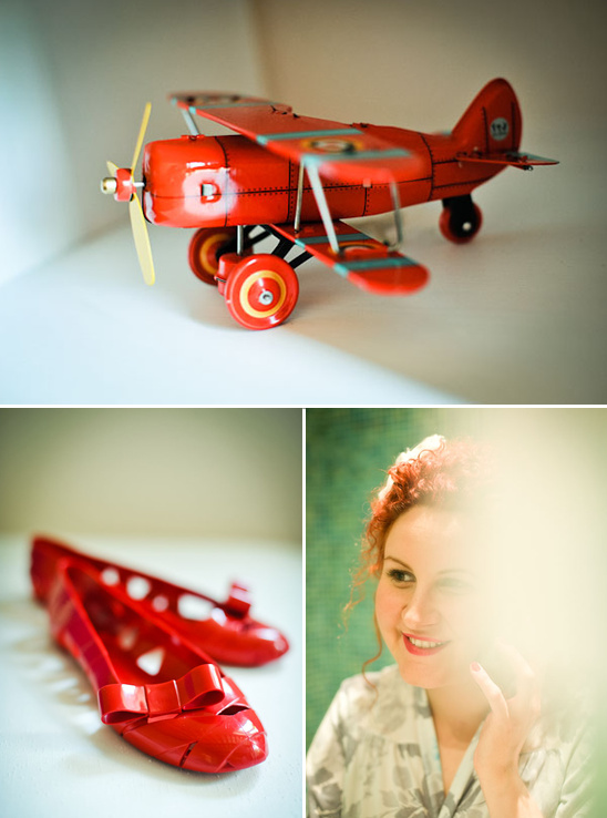 A Vintage Airplane Wedding in Italy
