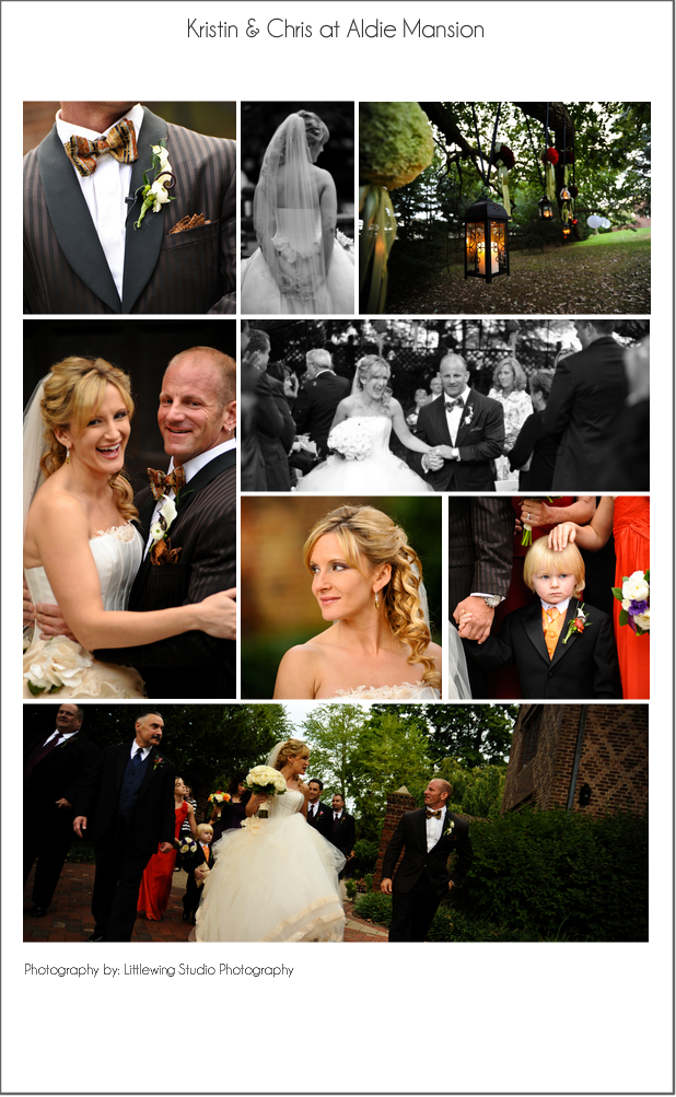 An Autumn wedding at Aldie Mansion