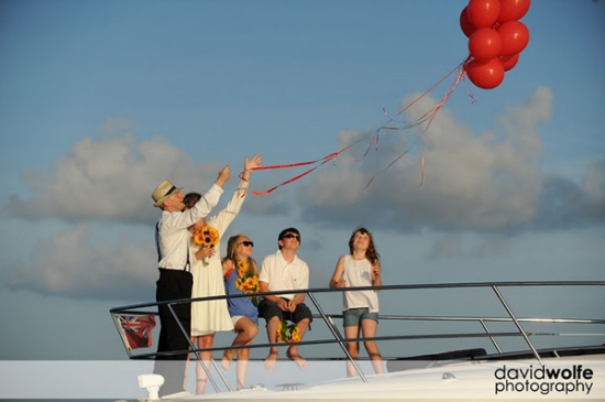 Cayman Islands Wedding with Cayman Luxury Charters
