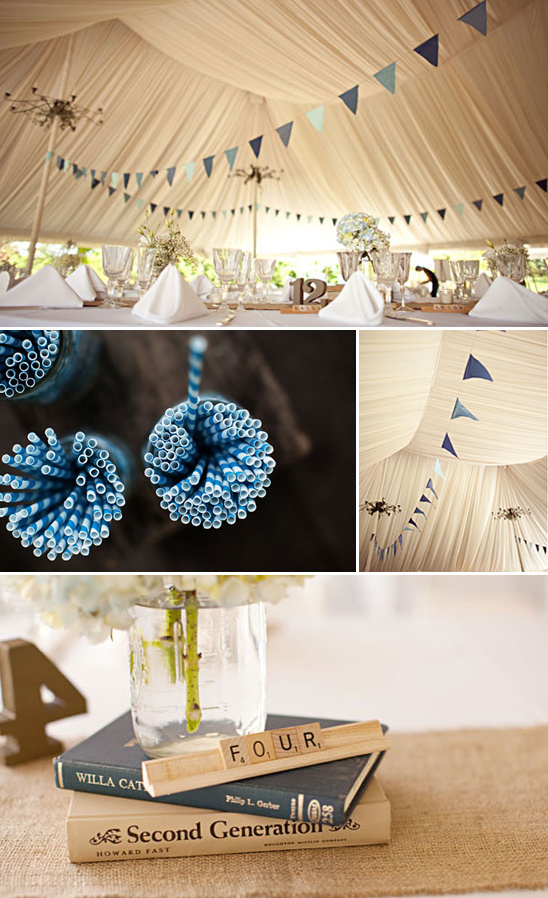 A New Jersey Bunting Wedding