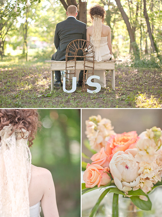 Old Fashion Garden Wedding Ideas