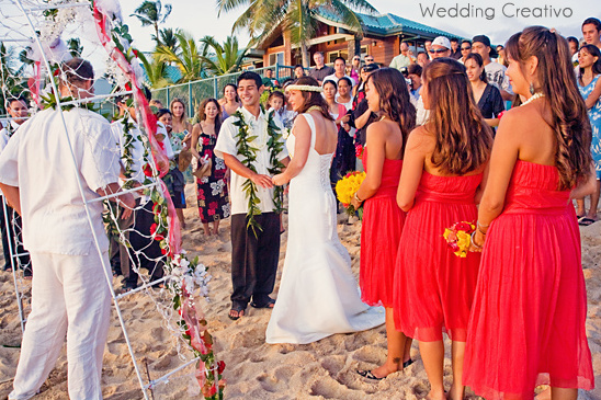 Double Destination Wedding: Chicago + Hawaii