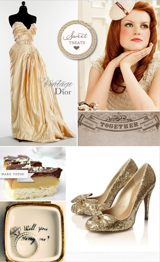 Sweet Treats + Vintage Dior