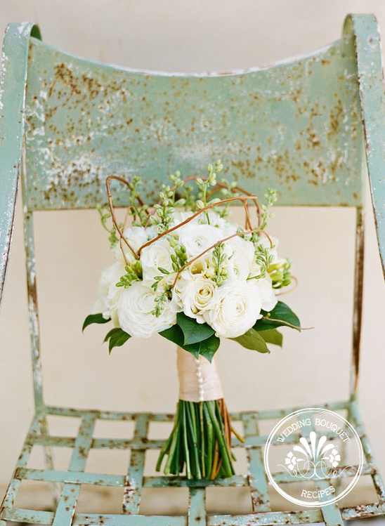 Wedding Bouquet Recipes | Ranunculus and Roses