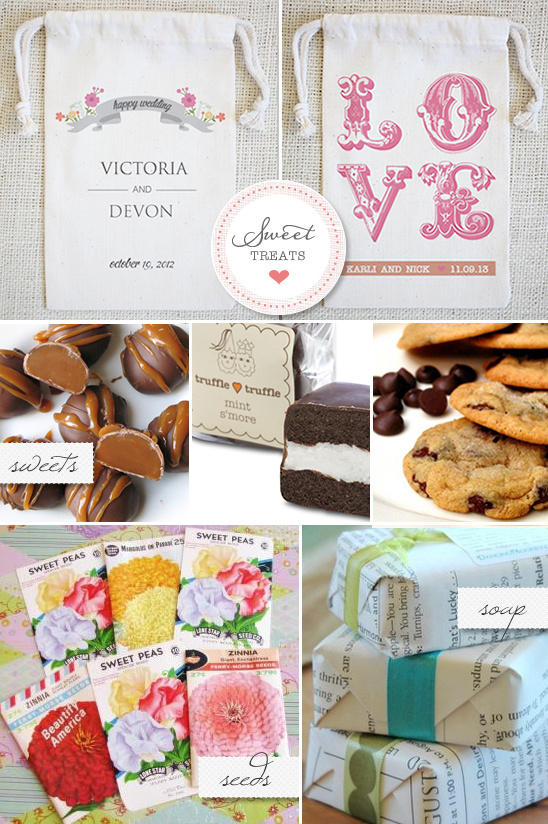Sweet Treats + New Favor Bags