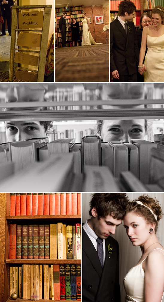 North Dakota Public Library Wedding