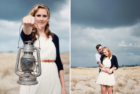 A Retro Nautical Engagement Shoot In New Zealand