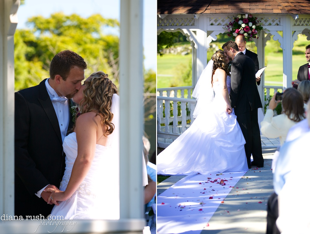 Jeff & Danielle's 'Live.Laugh.Love' Wedding | Diana Rush Photography