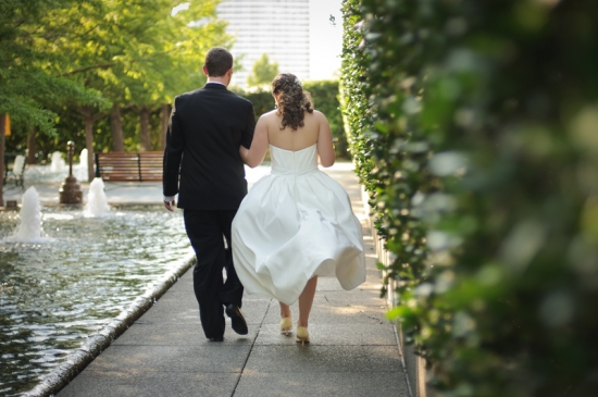 Stephanie and Alex at Avanti Fountain Place in Dallas by LifeAsArt Photography