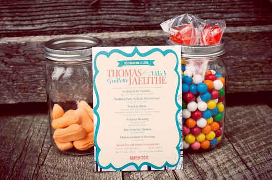 Vibrant Carnival Themed Wedding Ideas