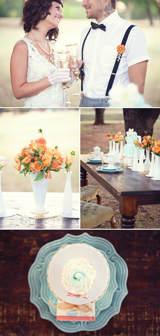 Super Stylish Wedding Inspiration By Amanda Watson Photography