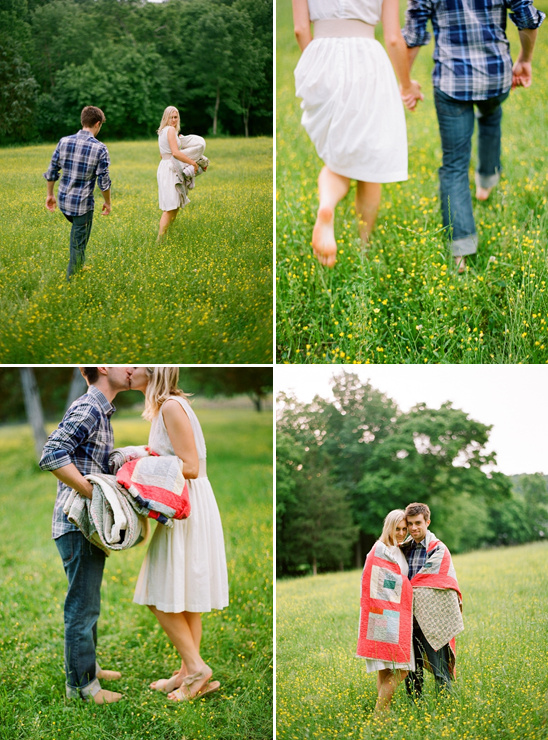 Old Farm Engagement Shoot By Kate Murphy Photography