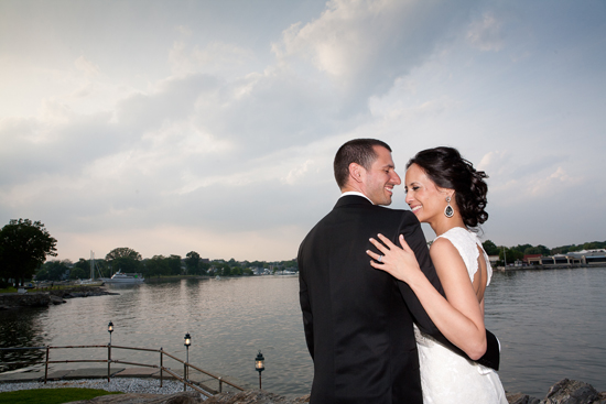 Elegant Waterfront Wedding by Stellina Events and Rich Lavigne Photography