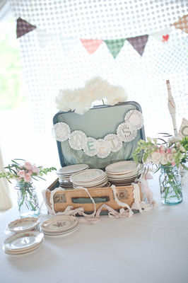 Country Vintage Pastel Wedding by Jenny Haas Photography