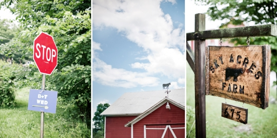 Elegant Farm Wedding by Katie Osgood Photography
