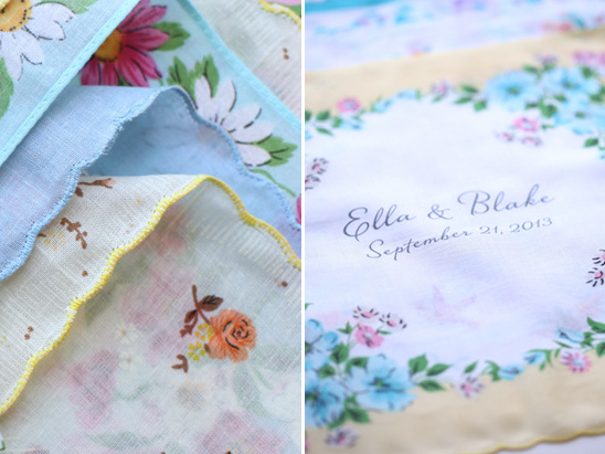 New Wedding Handkerchiefs