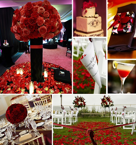 I do Venues ~ Design Inspiration ~ Red
