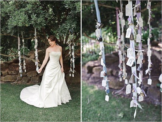 Homegrown Secret Garden Wedding