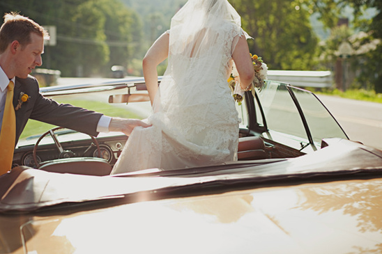 Romantic and Classic North Carolina Mountain Wedding