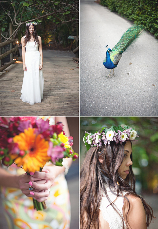 Bohemian Zoo Wedding By Shannon Mathis Photography