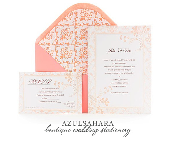 Decadent And Luxurious Stationery From Azulsahara