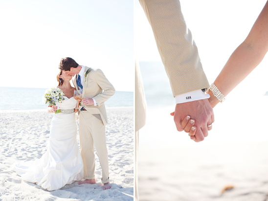 Sophisticated Beach Wedding by KT Merry Photography