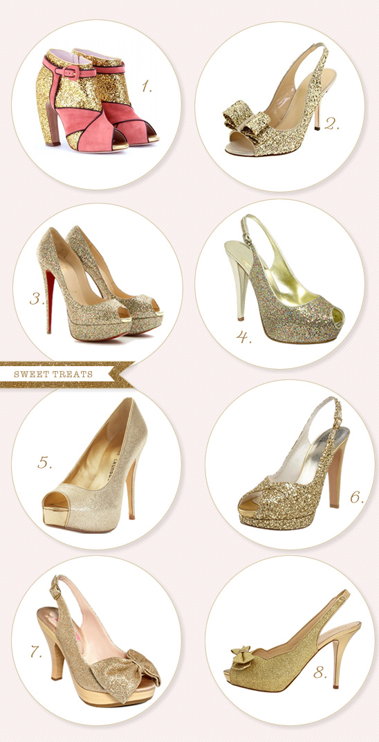 Sweet Treats | Sparkly Shoes