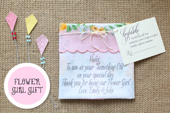 Custom Flower Girl Gifts